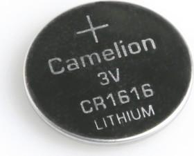 Фото 1/2 CR1616, Элемент питания литиевый (1шт) 3В