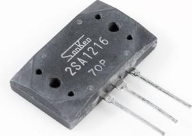 2SA1216, Транзистор PNP 180В 17А [SIP-3]