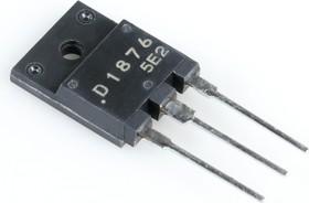 2SD1876, Мощный высоковольтный NPN биполярный транзистор, драйвер управления строчной разверткой ТВ
