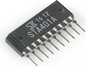 STA401A, Мощная биполярная N-канальная сборка на составных транзисторах со встроен. лавинными диодами [SIP-8]