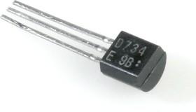 2SD734, Транзистор NPN 20В 0.7А 0.6Вт [TO-92]