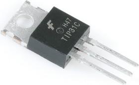 TIP31C, Транзистор: NPN; биполярный; 100В; 3А; 40Вт; TO220AB