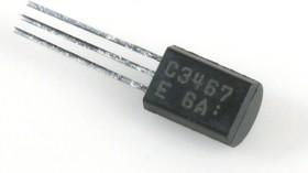 Фото 1/2 2SC3467, Транзистор NPN 200 В 0.1 А [ TO-92MOD ]