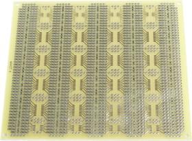 MAKET-4 150х132мм, Плата печатная макетная