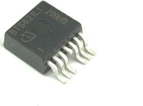 Фото 1/2 BTS621L1, Интеллектуальный ключ верхнего уровня, двухканальный, [TO-220AB/7-SMD]