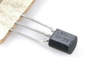 Фото 1/2 BC556B.112, Транзистор PNP 65В 0.1А 0.5Вт [TO-92]