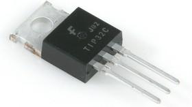 TIP32C, Биполярный транзистор, PNP, 100 В, 3 А, 40 Вт(=КТ816Г), [TO-220]