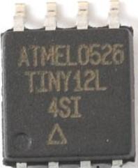Фото 1/2 ATtiny12L-4SU, Микроконтроллер 8-Бит, AVR, 4МГц, 1КБ Flash [SO8]