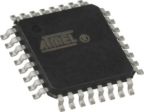 Фото 1/2 ATmega48V-10AU, Микроконтроллер 8-Бит, AVR, 10МГц, 4КБ Flash [TQFP-32]