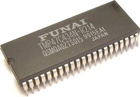 TMP47C434N-R214, Микроконтроллер 4-Бит, ТВ процессор [DIP42]