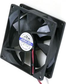 JF0925B2H, Вентилятор 24В, 92х92х25мм, подшипник качения 3000 об/мин