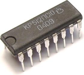 КР512ПС10 (00-14г), Интегральная микросхема для реле времени (MK5009)