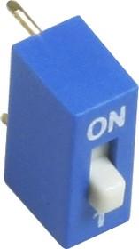 Фото 1/2 KLS7-DS-01-B-00 (аналог SWD1-1,ВДМ1-1), Переключатель DIP, 1 контактная группа
