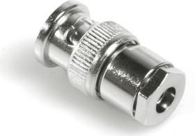 HYR-0110A (GB-110A) (BNC-7008A), Разъем BNC, штекер, RG-58, зажим (Taper grip)