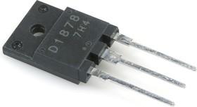 2SD1878, Транзистор NPN с демпферным диодом 800В 5А 60Вт [TO3PML]