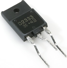 Фото 1/2 2SD2333, Транзистор NPN 800В 5А 80Вт [SOT-199]