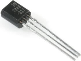 2N7000, Транзистор, N-канал, 60В, 0.4А, 5000мОм [TO-92]