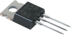 Фото 1/4 IRF1404PBF, Транзистор, N-канал 40В 162А [TO-220AB]