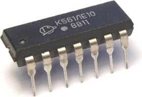"К561ЛЕ10А, 3 логических элемента ""ИЛИ-НЕ"""