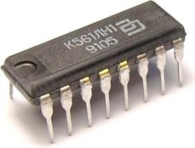 """К561ЛН1А (91-99г), 6 логических элементов """"HЕ"""" с блокировкой и запретом"""