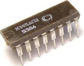Фото 1/2 К145АП2 (90-97г), Микросхема управления сенсорным светорегулятором