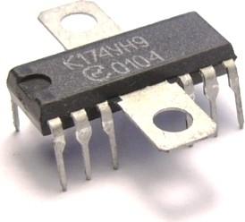 К174УН9 (TCA940), Усилитель низкой частоты для портативной аппаратуры, 9В…18В, 4 Ом, 7Вт