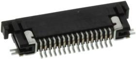 SFV18R-2STE1HLF, CONNECTOR, FFC/FPC, 18POS, 1ROW, 0.5MM