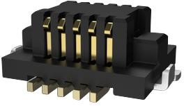 Фото 1/2 10132798-011100LF, CONNECTOR, STACKING, RCPT, 10POS, 2ROW