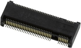 MDT420B03001, CARD EDGE CONN, DUAL SIDE, 67POS, SMD
