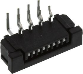 SLW8R-1C7LF, CONNECTOR, FFC/FPC, 8POS, 1 ROW, 1MM