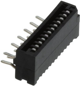 HLW12R-2C7LF, CONNECTOR, FFC/FPC, 12POS, 1 ROW, 1MM