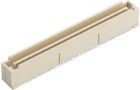 10144518-044802LF, Составной разъем платы, FCI BergStak Lite 10144518 Series, 40 контакт(-ов), Штыревой Разъем, 0.8 мм