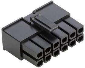 10142707-10LF, Разъем типа провод-плата, 5.7 мм, 10 контакт(-ов), Гнездо, FCI Minitek Pwr 10142707 Series