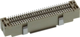 61083-062402LF, CONN, STACKING, HEADER, 60POS, 2ROW