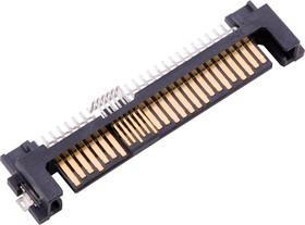 10101788-002CLF, I/O CONNECTOR, SATA, PLUG, 22POS, SMT
