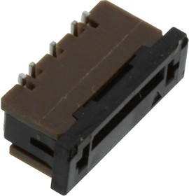 SFW5S-2STME1LF, CONNECTOR, FFC/FPC, 5POS, 1 ROW, 1MM