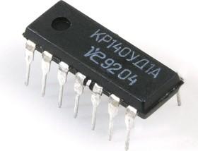 КР140УД1А, ОУ средней точности без частотной коррекции
