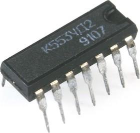 Фото 1/2 К553УД2 (1991г), Операционный усилитель средней точности