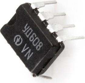 Фото 1/2 КР140УД608 (00-14г), ОУ с малыми входными токами и внутренней коррекцией