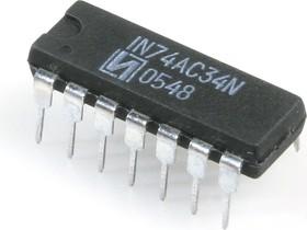 КР1554ЛИ9, 6 повторителей (MC74AC34N) ( IN74AC34N)