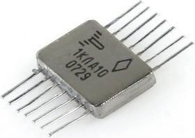 """564ЛА10 никель (95-06г), 2 логических элемента """"2И-НЕ"""" с открытым стоковым выходом"""
