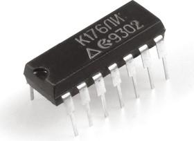 """Фото 1/2 К176ЛИ1 (1990-97г), Логический элемент """"9И-НЕ"""""""