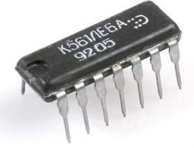 "К561ЛЕ6А (91-99г), 2 логических элемента ""4ИЛИ-НЕ"""
