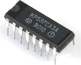 Фото 1/2 КР597СА3А (88-92г), Сдвоенный маломощный компаратор напряжения