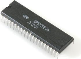 Фото 1/2 КР572ПВ2А, Интегрирующий АЦП на 3.5 десятичных разряда с выходом на семисегментный светодиод. индик. (ICL7107)