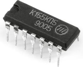 Фото 1/2 К155КП5, Селектор-мультиплексор данных на 8 каналов (SN74152N)