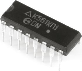 Фото 1/2 К561КП1 (91-99г), Двойной 4-х канальный мультиплексор