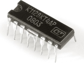 К1128КТ4АР (98-12г), 4х канальный полумостовой коммутатор с ограничительными диодами