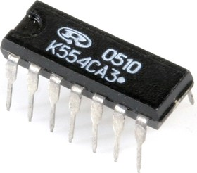 Фото 1/2 К554СА3А, Компаратор напряжения с малым входным током (IL311ANM)