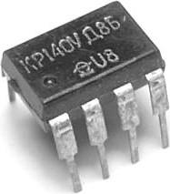 КР140УД8Б (90-91г), ОУ средней точности с малыми входными токами, с полевыми транзисторами на выходе